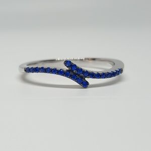 Jewelry - Sterling Silver Pave Ring
